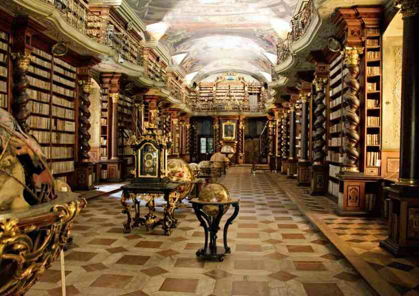 Clementium - 9 Most beautiful libraries