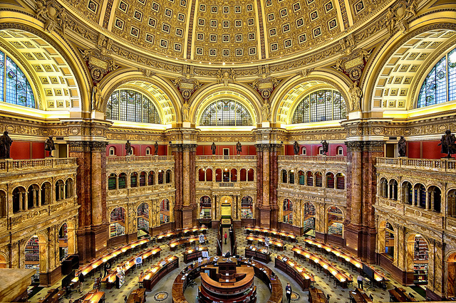 Library of Congress - 9 Most beautiful libraries