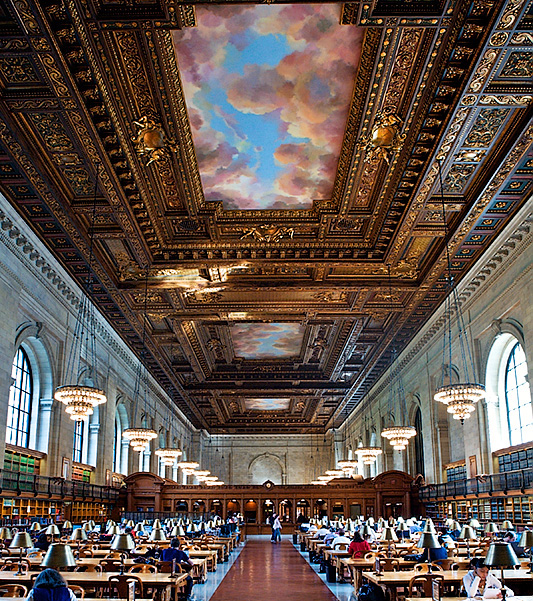 New York Public Library - 9 Most beautiful libraries