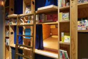 Book and Bed Tokyo Sleep With 5000 Books