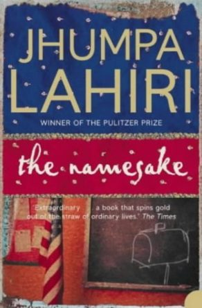 The Namesake book by Jhumpa lahiri