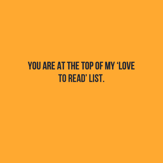 Best facebook Status : You are at my reading list...