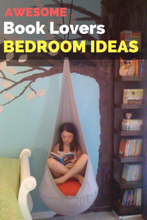 Here are some of the coolest book lovers bedroom ideas that you can opt for while renovating or designing your brand new bookish bedroom.