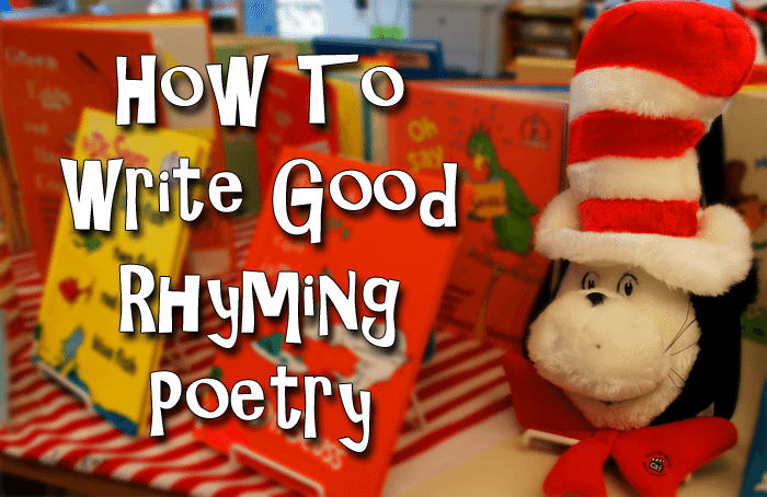 How to write a good rhyming poetry - Step by step guide