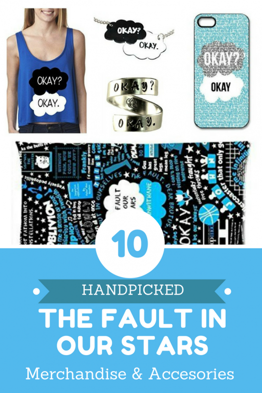 10 best handpicked The Fault in Our Stars Merchandise I can bet that you cannot resist buying one of these. Check them out.