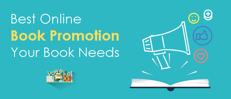 Best Online Book Promotion Service - Vowelor Author Program