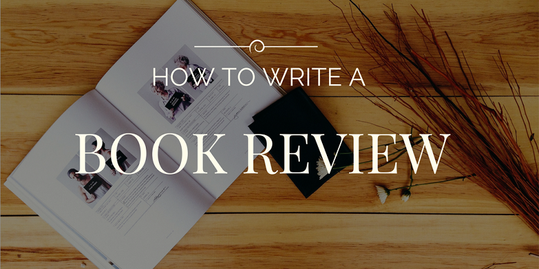 How to write a good application book review