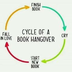 Book hangover cycle