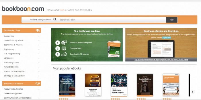 Bookboon - free textbooks online