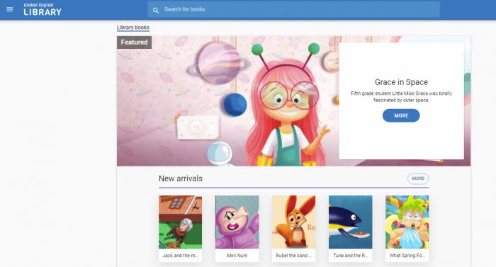 Global Digital Library - Free online books for kids