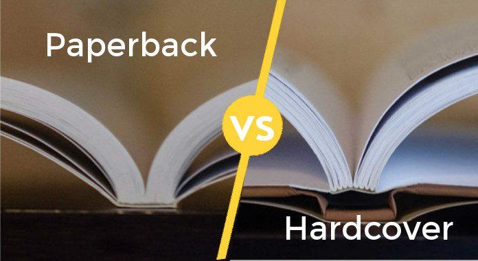 Paperback vs Hardcover Books
