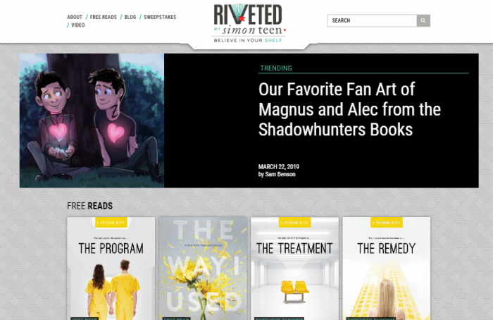 Riveted - free online books for adults