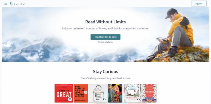 Scribd - download free books online