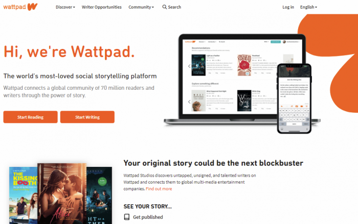 Wattpad - Free online books to read
