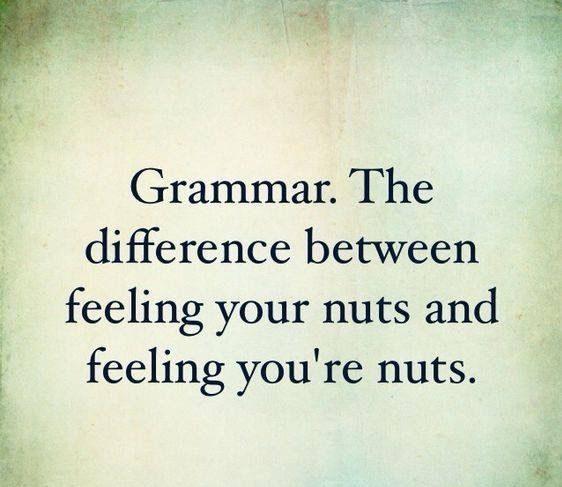 Poor Grammar Meme