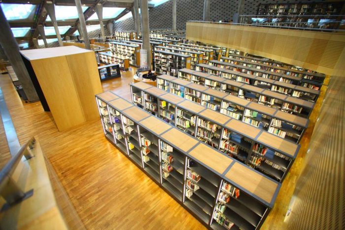 The Library of Alexandria, Egypt