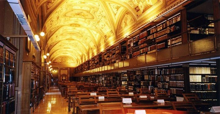 Vatican Library - oldest libraries of the world