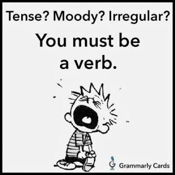 Grammar verb memes
