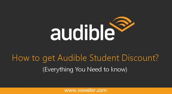 Amazon Audible Discount