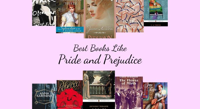 Books Like Pride and Prejudice