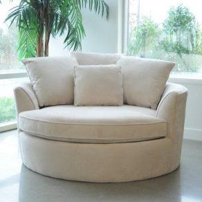 Marta Barrel Reading Chair