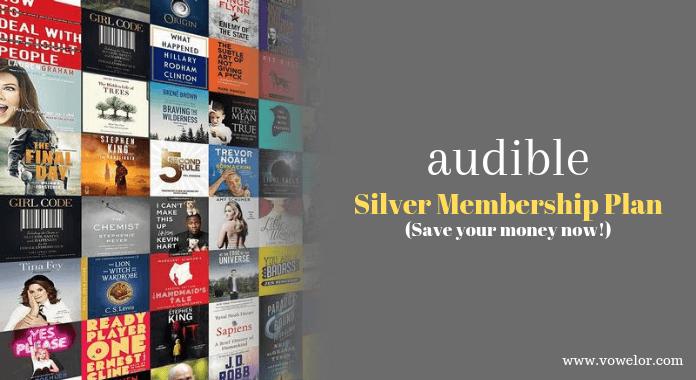 Audible Silver Membership Plan