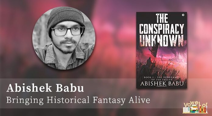 Author Abishek Babu, The Vengeance of the Fallen