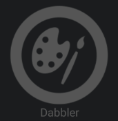 Dabbler Badge