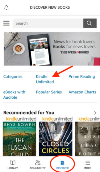 Find Best Kindle Unlimited books