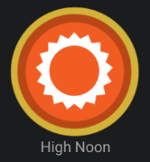 High Noon Badge