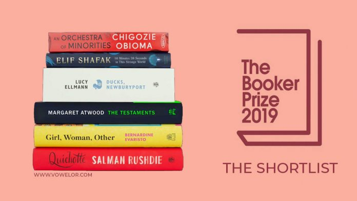 Man Booker Prize 2019 Shortlist