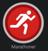 Marathoner Badge
