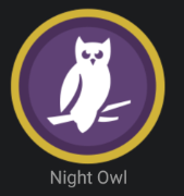 Night Owl Badge