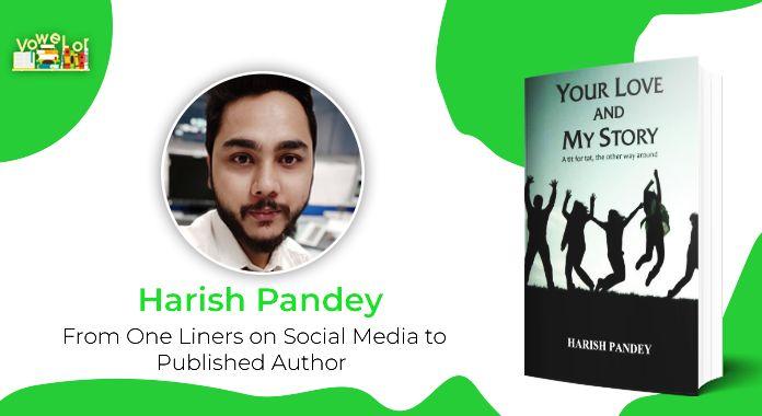 author harish pandey interview