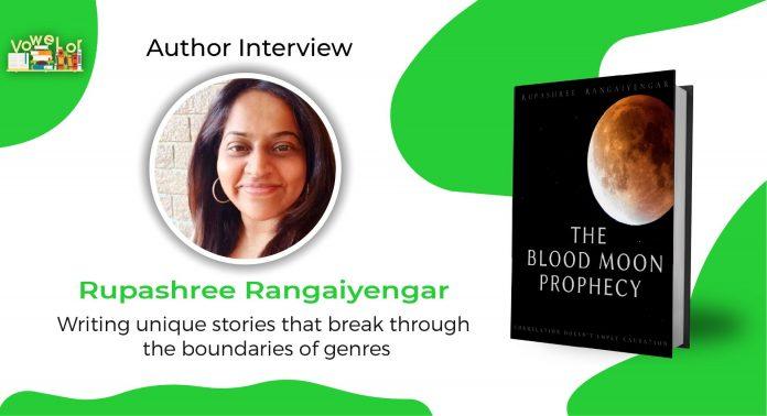 author rupashree rangaiyengar interview