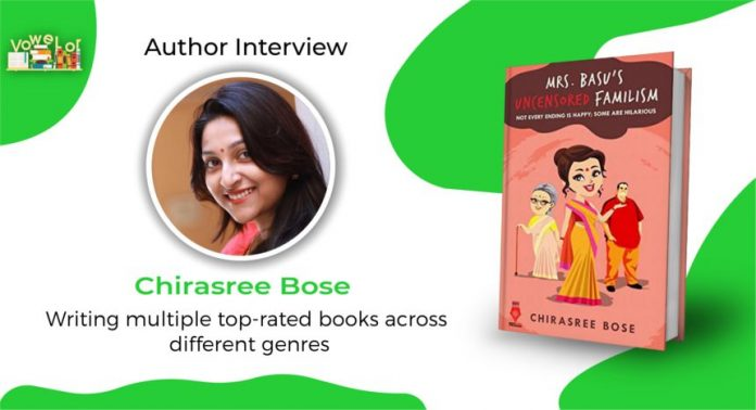 chirasree bose author interview