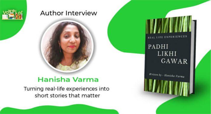 hanisha varma author interview