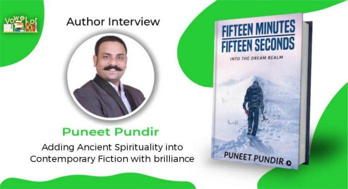 puneet pundir author interview