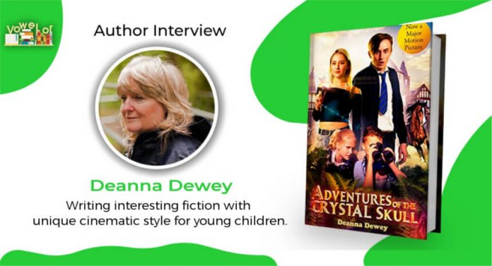 deanna dewey author interview