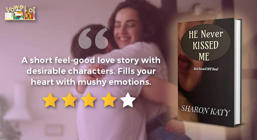 he never kissed me book review